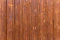 Gammal målad wood vägg - textur eller bakgrund Royaltyfri Foto