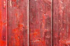 Gammal målad wood vägg - textur eller bakgrund Fotografering för Bildbyråer