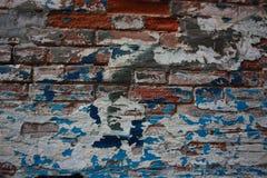 gammal målarfärg för abstrakt grunge för bakgrund sprucken Royaltyfri Fotografi