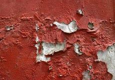 gammal målarfärgvägg royaltyfri bild