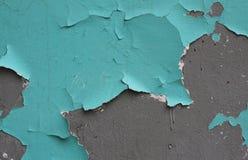 gammal målarfärgvägg Arkivbild