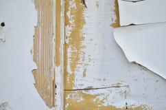 gammal målarfärgwhite Fotografering för Bildbyråer