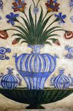 gammal målning för agra india mausoleum Arkivbild