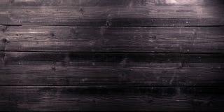 Gammal mörk träbrädebakgrund, tomt kopieringsutrymme arkivbilder