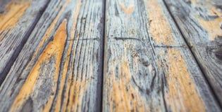 Gammal mörk wood texturbakgrund för text Arkivbild