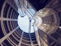 Gammal maktbyggnad Arkivfoto