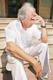 gammal man Fotografering för Bildbyråer