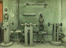 Gammal manufactory Arkivbild