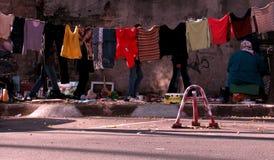 Gammal marknad i Odessa, Ukraina Royaltyfri Foto