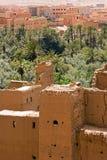 Gammal marockansk stad Arkivbilder