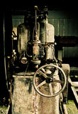 gammal maskin Arkivfoto