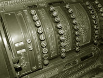 gammal maskin Royaltyfri Fotografi