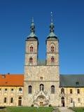 gammal medeltida kloster Fotografering för Bildbyråer