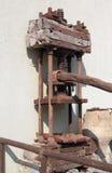 gammal mekanism Royaltyfri Fotografi