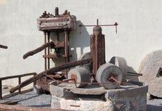 gammal mekanism Arkivbild