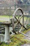 Gammal mekanism av kugghjul Arkivbild