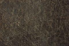 Gammal metallyttersida med skrapor och rostbakgrund Arkivbilder