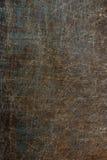 Gammal metallyttersida med skrapor och rostbakgrund Royaltyfri Foto