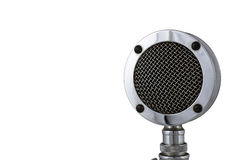 gammal mikrofon Fotografering för Bildbyråer