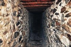 Gammal min tunnel Royaltyfria Bilder