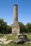 Gammal minaret Royaltyfri Bild