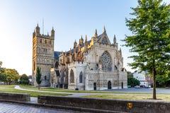 Gammal mitt av Exeter (Devon) Arkivfoto