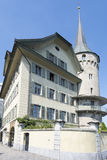 Gammal mitt av Lucerne Arkivfoto