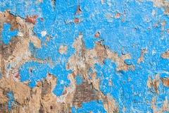 gammal målad vägg Arkivbilder
