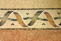 gammal mosaik Arkivfoton