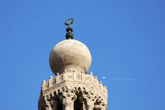 Gammal moské i Egypten fotografering för bildbyråer