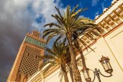 Gammal moské i Marrakesh Fotografering för Bildbyråer