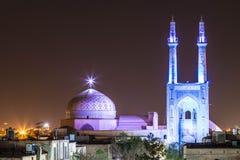 Gammal moské i persia Royaltyfri Fotografi