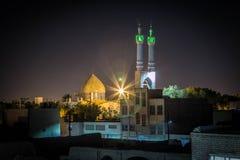 Gammal moské i persia Arkivbild