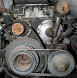 Gammal motor Royaltyfri Bild