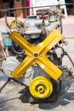 Gammal motor Royaltyfria Foton