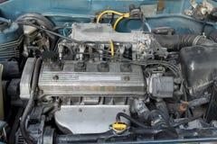 Gammal motor Arkivfoto