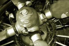 Gammal motor Royaltyfria Bilder