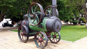 Gammal motor, Carahue - Chile Royaltyfri Bild