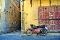 gammal motorbike Arkivfoto