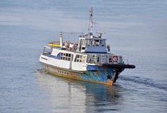 Gammal motorboat royaltyfria foton