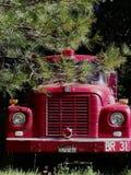 gammal motorbrand Fotografering för Bildbyråer