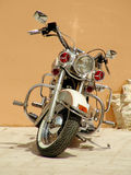 gammal motorcykel Arkivbilder