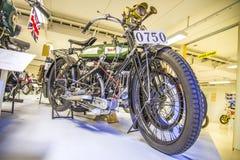 Gammal motorcykel, bsa 1921 England Fotografering för Bildbyråer