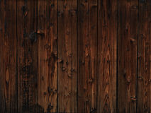 Gammal mörk wood texturbakgrund Royaltyfria Bilder