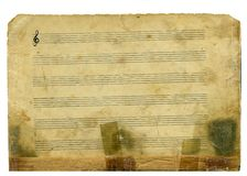 gammal musik royaltyfria foton
