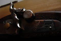 gammal musket Arkivfoto