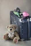 gammal nalle för björn Fotografering för Bildbyråer