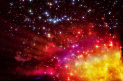 Gammal nebulosa Arkivfoto