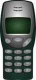 Gammal Nokia 3210 telefon stock illustrationer