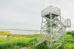 Gammal-observatorium Arkivfoton